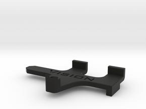 TLR 22-4 2.0 Shorty Battery Brace 18.5mm in Black Natural Versatile Plastic