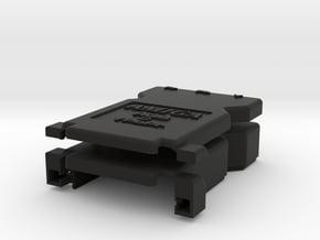 AMIGA RGB-2-YPrPb Adapter Case in Black Natural Versatile Plastic