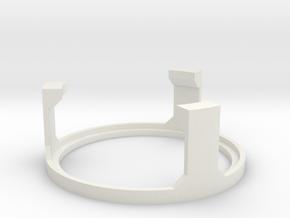 KR Luke Hero - Part 4/4 - Speaker Holder Top in White Natural Versatile Plastic