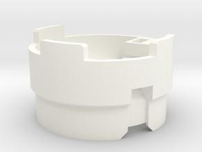 KR Luke Hero - Part 3/4 - Speaker Holder in White Processed Versatile Plastic