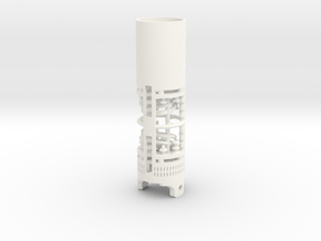 KR Luke Hero - Part 2/4 - Chamber in White Processed Versatile Plastic