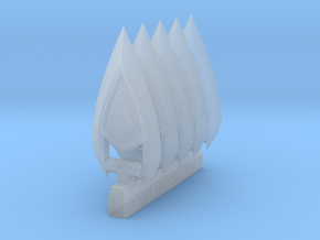 techno-katar 1 mk2 in Smooth Fine Detail Plastic