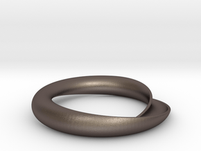 Continuity in Polished Bronzed Silver Steel: Medium