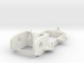 F1 motormount EVO in White Natural Versatile Plastic