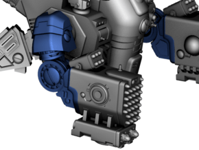 Stormwave - Arms for Missiles in Smooth Fine Detail Plastic: d3