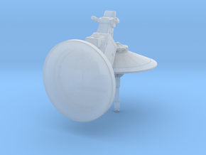 dish turret 1:144 scale in Smooth Fine Detail Plastic