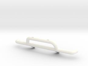 TBB001-01 Tyco Baja Bandit Front Bumper -Aux Light in White Processed Versatile Plastic