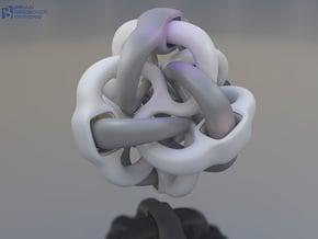 Octa - Eyo - 30mm in White Natural Versatile Plastic