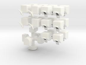 Limitation in White Processed Versatile Plastic
