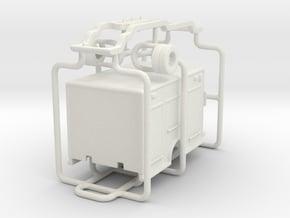 1/87 Terrastar Medium Duty Rescue Body in White Natural Versatile Plastic