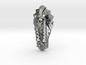 BigChief Pendant in Polished Silver