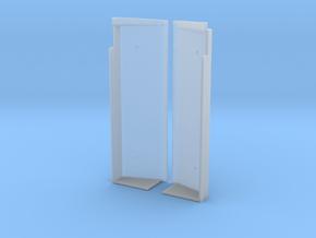 SN0001 SD40-2W Wide Notch Snow Shields 1/87.1 in Smoothest Fine Detail Plastic