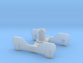 FR-style bogie without coupling in Smooth Fine Detail Plastic