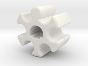 BCT for XRAY XB4 Ball Joint #XRA302665 in White Natural Versatile Plastic