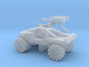 All-Terrain Vehicle with weapons in Smooth Fine Detail Plastic