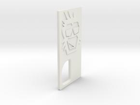 TLF# - Calm Kong - Door in White Natural Versatile Plastic