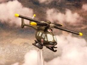 Eurocopter UH-72 Lakota 6mm 1/285 in White Natural Versatile Plastic