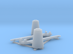Minesweeping_Hoist_Pair in Smooth Fine Detail Plastic