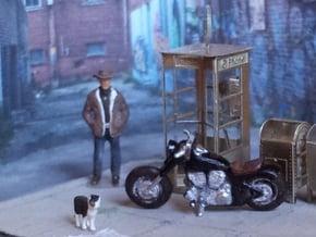 Harley Davidson   1:120 TT in Smoothest Fine Detail Plastic