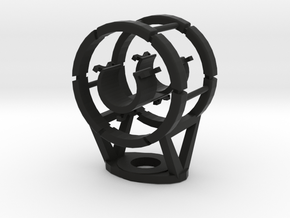 Shockmount Elastic Heavy Duty 20mm in Black Natural Versatile Plastic