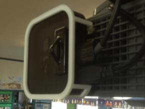AppleTV  UF55 / UF65 (SmartBoard) projector mount in White Processed Versatile Plastic