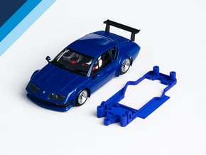 1/32 Avant Slot Alpine A310 Chassis for Slot.it AW in White Natural Versatile Plastic