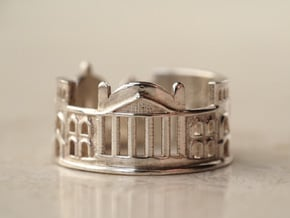 Berlin Ring - Men Ring Gift in Polished Silver: 5 / 49