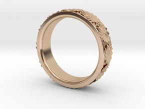 Flowers in Spring in 14k Rose Gold Plated Brass: 7 / 54