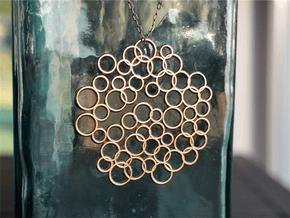 Bubble Pendant in Natural Bronze