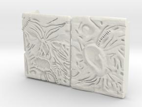 Necronomicon Raspberry Pi 3 Case in White Natural Versatile Plastic