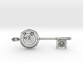 Key To The Universe in Natural Silver