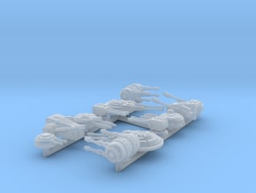 1/270 Turret Variety Pack in Smooth Fine Detail Plastic