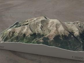 Mt. Elbert, Colorado, USA, 1:50000 in Full Color Sandstone