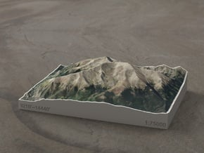 Mt. Elbert, Colorado, USA, 1:75000 in Full Color Sandstone
