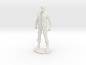 Spike 33.7mm Tall (Titan Master Scale) in White Natural Versatile Plastic