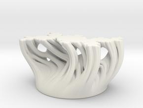 Solid partial Julia sweep in White Natural Versatile Plastic