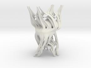 2 kinds of Julia set (thin) in White Natural Versatile Plastic