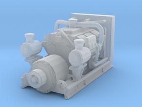 1/160 N Scale Diesel Electric Generator in Smooth Fine Detail Plastic