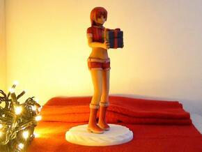 """""""Santa Girl"""" Figure (Full Color) in Full Color Sandstone"""