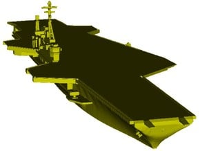1/1800 scale USS Midway CV-41 aircraft carrier x 1 in Smooth Fine Detail Plastic