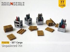 SET Cargo (TT 1:120) in Smooth Fine Detail Plastic