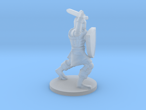 Questing Knight in Smooth Fine Detail Plastic