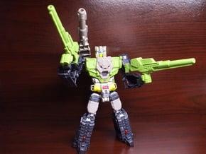 Shatterblaster for Titans Return Hardhead in White Processed Versatile Plastic