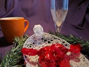 Marriage, BirthDay, Special Occasion: Serveware in White Processed Versatile Plastic