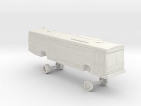 HO Scale Bus Neoplan AN440 Muni 8100-8300s in White Natural Versatile Plastic