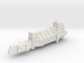 BFG- Light Cruiser pre-Heresy variant in White Natural Versatile Plastic