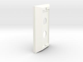Hue Dimmer Decora Cover in White Processed Versatile Plastic