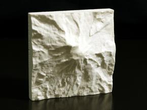 3'' Mt. Rainier, Washington, USA, Sandstone in Natural Sandstone