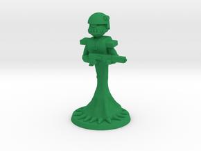 Krumpfs Trooper 1 in Green Processed Versatile Plastic