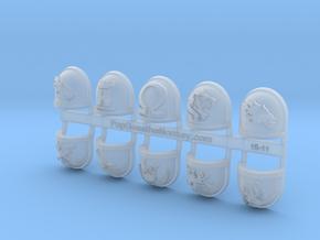 10x Deathwatch - Chapter Origin Set:45 in Smooth Fine Detail Plastic